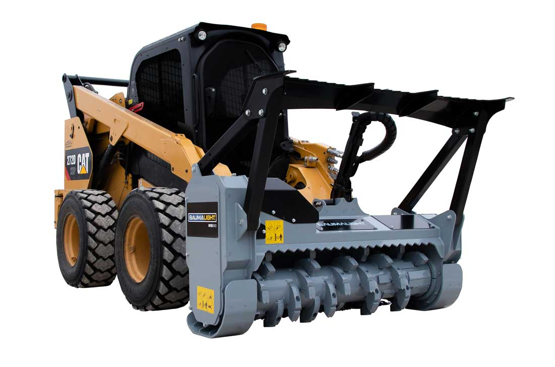 MS960 heavy duty fixed tooth mulcher