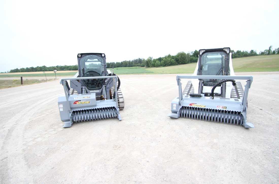 Baumalight 500 series brush mulchers