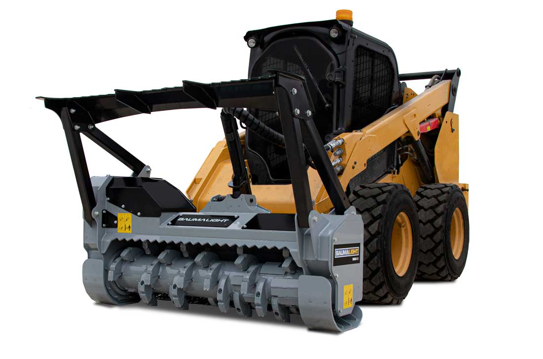 Baumalight MS960 skidsteer mounted mulcher