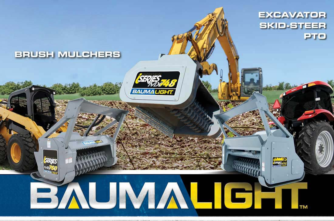 Baumalight brush mulchers