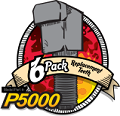 P5000 6 pack replacement teeth