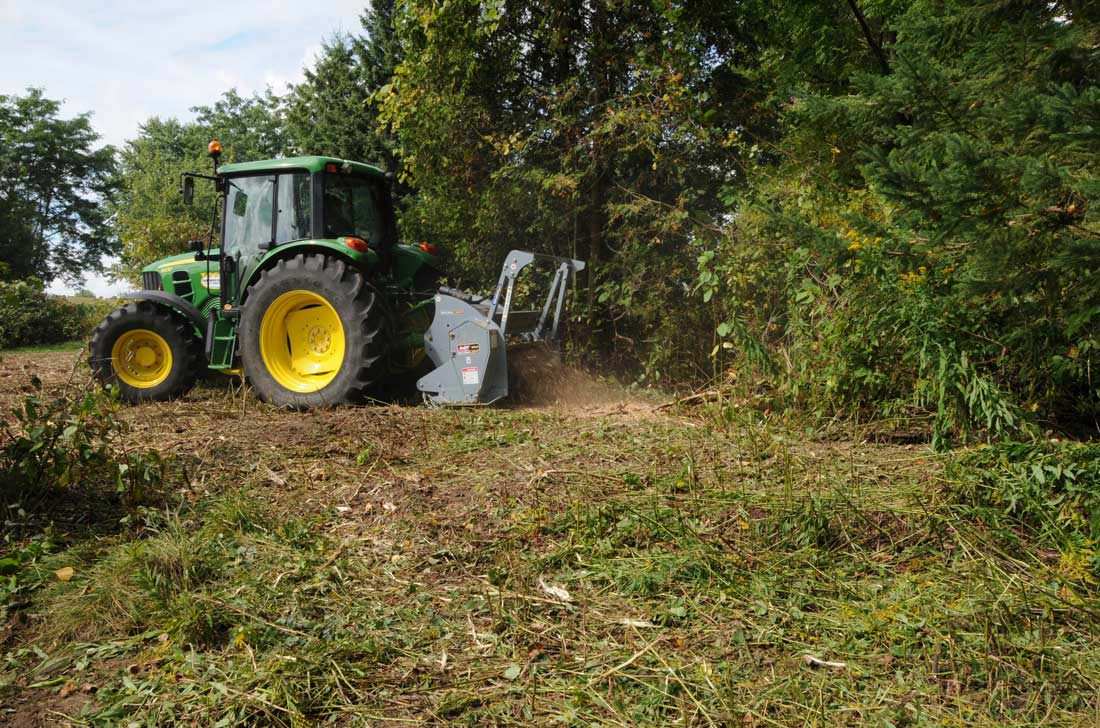 Cleaning up with a Baumalight mulcher