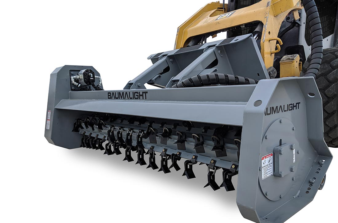 200 series flail type brush mulcher