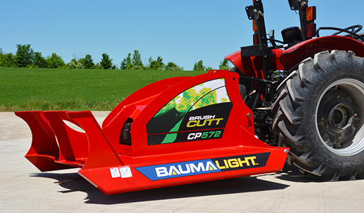 Baumalight PTO Brush mulcher side view
