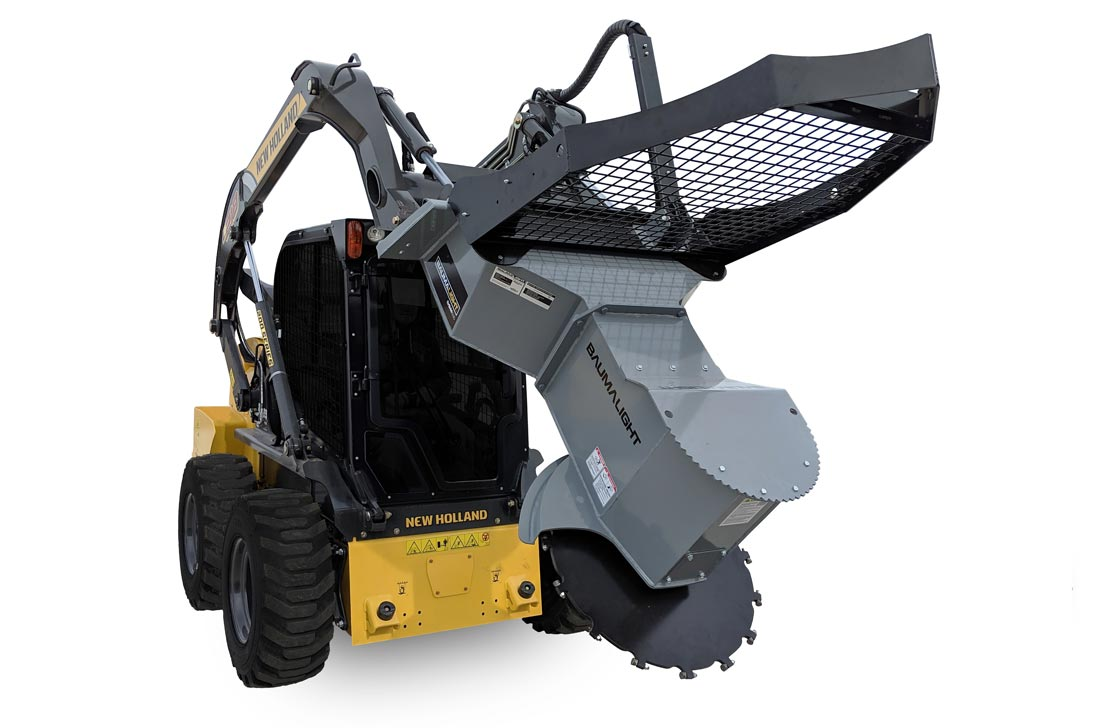 Tree saw for skidsteer