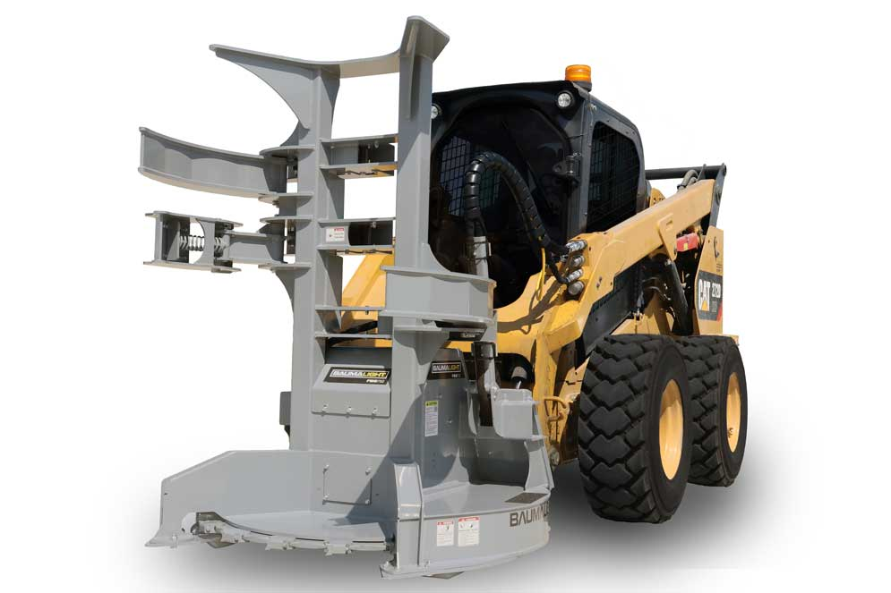 Feller Buncher for skid steer