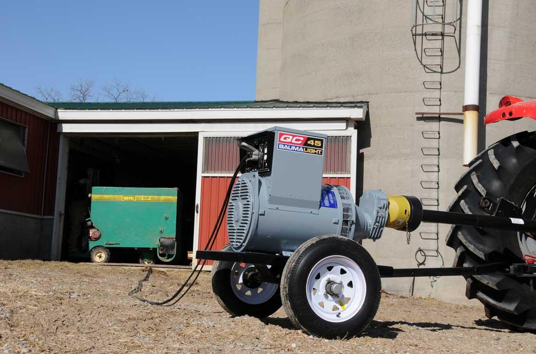 BaumaLight - PTO Generators