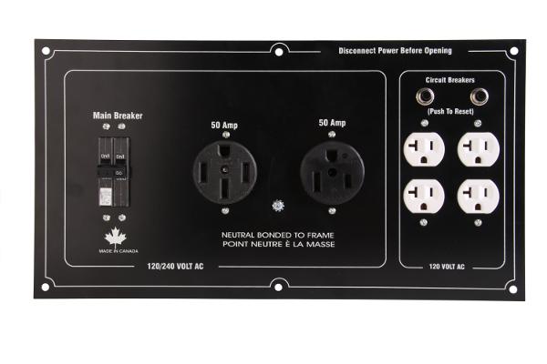 Baumalight QC12 generator panel
