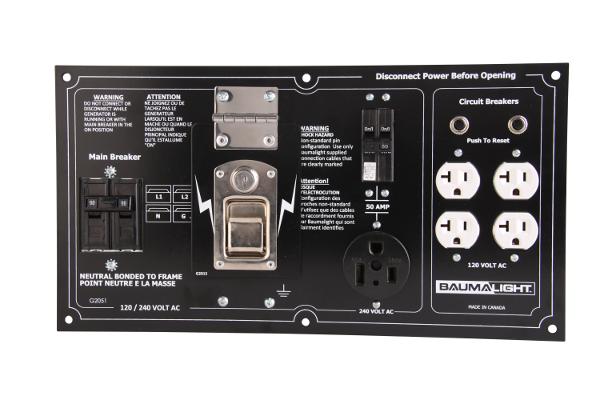 Baumalight QC19 generator panel