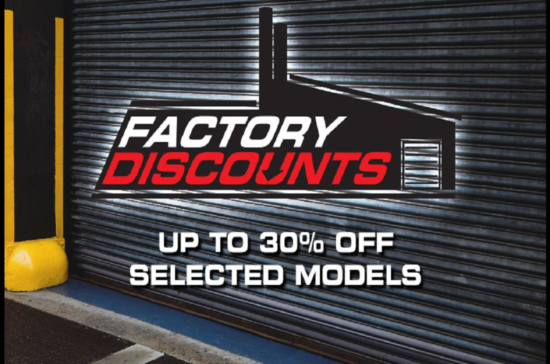 Factory Discounts Deep Discounts