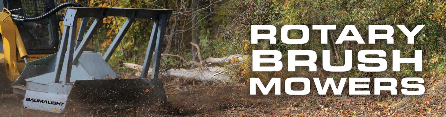 Rotary Brush Mulcher Home Page Banner