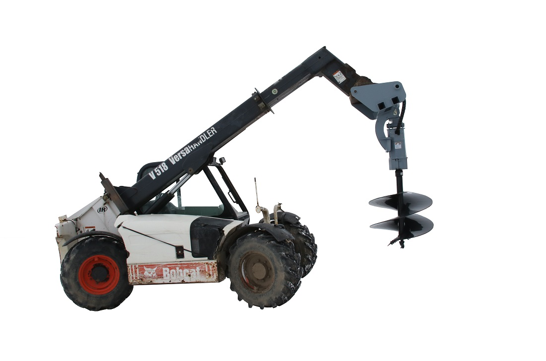 Auger drive for telehandler