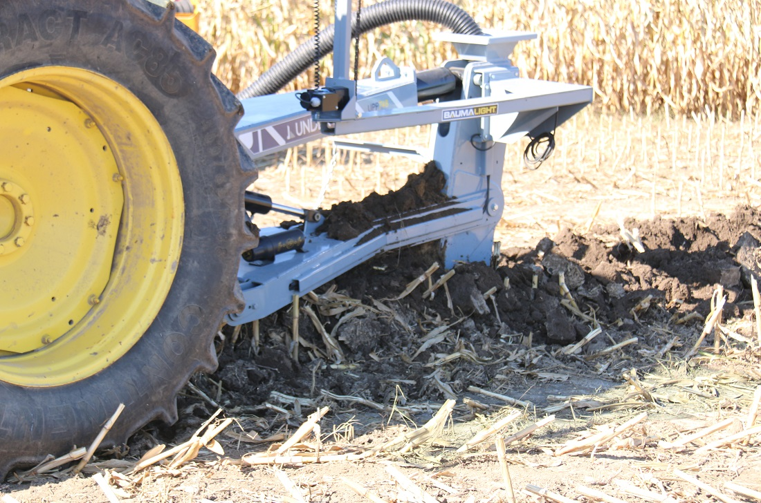 3 point hitch drainage plow